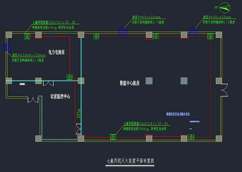 机房消防设计方案