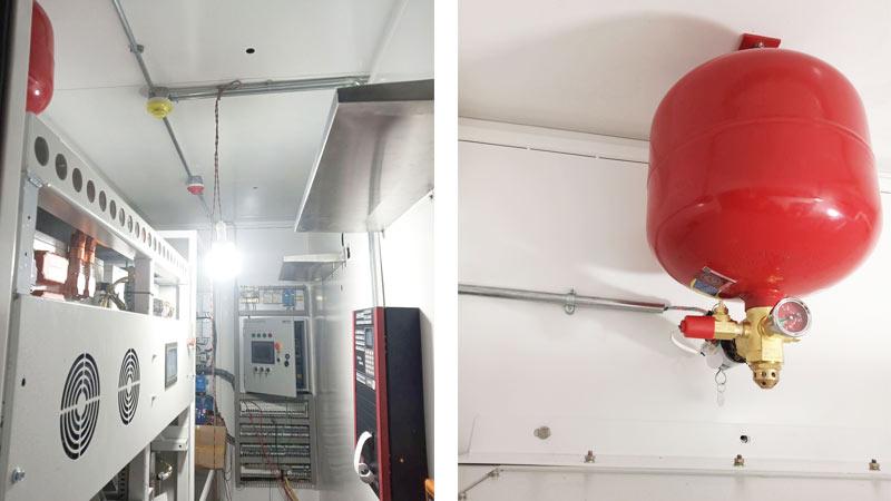 储能集装箱七氟丙烷灭火系统