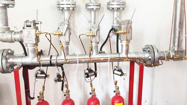 气体灭火系统组件选择阀