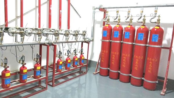 气体灭火系统组件瓶组